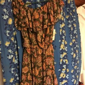 Nanette Lepore Paisley Dress
